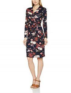 5bd66df1c290 Joe Browns Floral Wrap Dress Blue Size UK 12 LF089 ii 20 #fashion #clothing