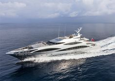 Benetti Panthera : 47 mètres d'élégance, de vitesse et de confort !