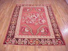 "Kilim & Flatweave 10' 0"" x 7' 1"" Vintage Kilim at Persian Gallery New York - Antique Decorative Carpets & Period Tapestries"