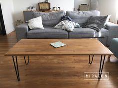 Atelier Ripaton - Hairpin Legs - www.ripaton.fr #DIY #Meuble #Furniture #Hairpin #HairpinLegs #Épingle #Design #Déco #Décoration #DoItYourself #HomeMade #FaitMain #Intérieur #PiedDeTable #Inspiration
