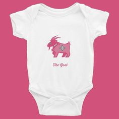 GOAT Baby Onesie :: Asian collection