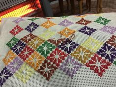 تطريز فلسطيني Cross stitch Palestenian Embroidery