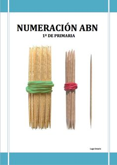 Bundles of toothpicks represent tens and hundreds for tactile place value practice! Numbers Preschool, Preschool Math, Teaching Tools, Teaching Math, Maila, Primary Maths, Montessori Activities, Baby Learning, Math For Kids