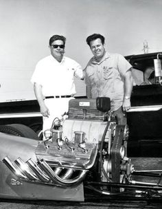 Frank Cannon and Dave Zueschel Bone Stock, Top Fuel, Funny Cars, S Car, Car Humor, Drag Racing, Cannon, Cod, Hot Rods