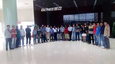 Indian media recently visited Gionee Facility in China for a closer look at how Gionee Industrial park operates #GioneeFacilityVisit