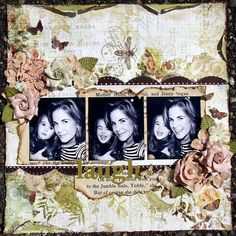 Tara Orr - great layout for a photo strip, of which I have!