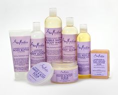 Shea Moisture Hair and Body Collections