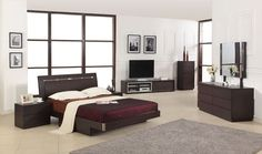 Capri #Modern #Bed with Storage