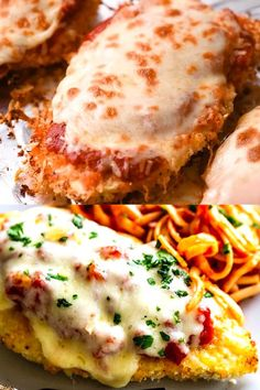 This delicious Oven Baked Chicken Parmesan recipe is easy and doesn't require any frying. Because this chicken Parmesan is baked, it is healthy, quick and easy! Make this crispy baked Parmesan crusted chicken for dinner tonight in about thirty minutes! Easy Chicken Dinner Recipes, Baked Chicken Recipes, Oven Recipes, Cooking Recipes, Keto Chicken, Rotisserie Chicken, Recipes With Chicken Tenders, Delicious Chicken Recipes, Quick Recipes For Dinner