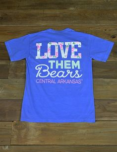 We know you love them Bears! Show your school spirit in this new University of Central Arkansas t-shirt! Go UCA Bears!
