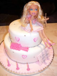 Bratz cake….