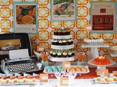 Mad Men Birthday Party Ideas | Photo 1 of 25 | Catch My Party