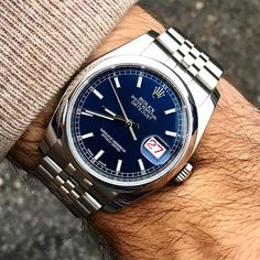 Rolex Datejust from @alekswatches