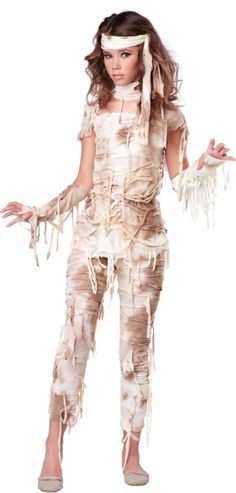 Teen Girls Mystical Mummy Costume - Party City