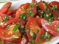 Блюдо обалденное — помидоры по-корейски. Пальчики оближешь! — БУДЬ В ТЕМЕ
