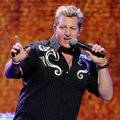 It might just be me, and his clothes are too extreme but this guy starts singing and it's game over for me!    Gary LeVox from Rascal Flatts