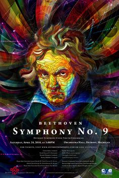 Poster AD for Beethoven's 9th