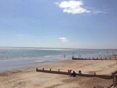 Hayling Beach in May