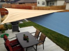 Cover Your Outdoor Space With Shade Sails - Tips, Ideas and a Tutorial!