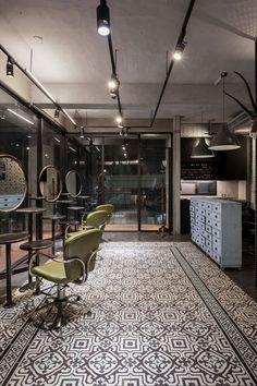 Q-Pot Hair Salon and Residence In Kaohsiung, Taiwan | Yatzer