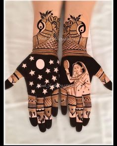 Explore latest Mehndi Designs images in 2019 on Happy Shappy. Mehendi design is also known as the heena design or henna patterns worldwide. We are here with the best mehndi designs images from worldwide. Peacock Mehndi Designs, Mehndi Designs Book, Latest Bridal Mehndi Designs, Full Hand Mehndi Designs, Modern Mehndi Designs, Mehndi Design Pictures, Mehndi Designs For Girls, Mehndi Designs For Beginners, Wedding Mehndi Designs