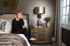 'Big Bang Theory' Star Kaley Cuoco Revamps Her Guest Room With Help From Wayfair - Interior designer Jeff Andrews has given the actress a luxe space to welcome her guests. - Photos
