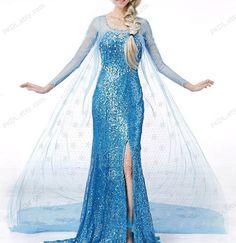 Gorgeous Elsa dress adult frozen elsa costume girls girl by PKDL, $99.00