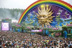 Boom, Belgium The Location For The Biggest Electronic Dance Music Festival - Tomorrowland