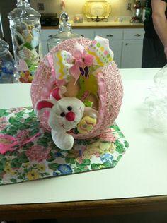 Balloon/String Easter Basket. for Kalyn