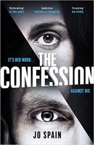 The Confession by Jo Spain. Loved every minute of this psychological thriller. 5*s from me.