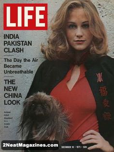 Life Magazine December 10, 1971 : Cover - Cybill Shepherd, The new China look (fashions) .