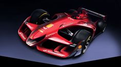 Ferrari's Formula One design team just launched a site for a radical concept car that looks unlike anything F1 has ever put on the track.