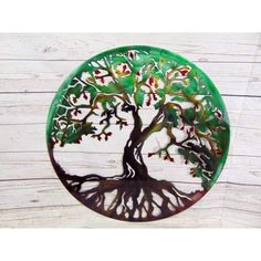Tree Of Life Metal Wall Art- -Michigan Metal Artwork