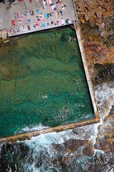 Wylie's Baths near Coogee Beach, in the Eastern Suburbs of Sydney, Australia
