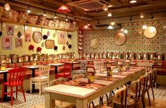 Comptoir Libanais restaurant by Studio 48 London, London – UK » Retail Design Blog