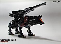 Comando Wolf - Kotobukiya - Escala 1/72