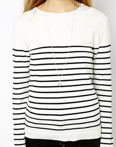 breton stripe knit / asos