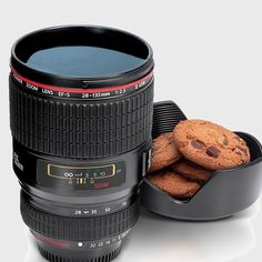 Camera Lens Drinks Cup - Black #stocking #cool #gift #gifts #mzube #quirky #shopping #sale #santa #birthday http://www.mzube.co.uk