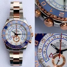 "Rolex Watches Swiss Luxury on Instagram: ""@tomclaeren's Rolex Yachtmaster II """