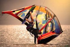 Kiteboarding goes bad  by Adoscool.com