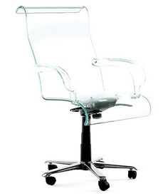 Lovey the lucite office chair but my kids would probably lick it.