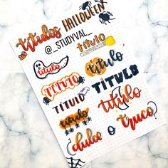 Buenaass 👋🏻❤️, Primero que todo, ya estamos a 1 de octubre 🎃🦇 #apuntes #studygram #school #dibujos Bullet Journal School, Bullet Journal Inspo, Bullet Journal Headers, Bullet Journal Banner, Bullet Journal Aesthetic, Bullet Journal Notebook, Bullet Journal Ideas Pages, Bellet Journal, Journal Fonts