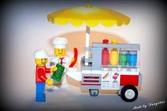 LEGO Ideas - LEGO Hotdog Stand Modular