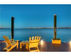 Me and my fiancee would drink tea out here every night and enjoy the view as the sun set over the water.    http://www.homes.com/listing/128309623/931_Norsota_Way_SARASOTA_FL_34242