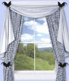 Rooster Kitchen Window Treatments, Kitchen Decor