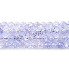 Crackle Quartz Beads, Round Semi Precious Beads, Lampwork Beads, Wholesale Jewelry, Gemstone Beads, Beaded Jewelry, Glass Beads, Quartz, Gemstones, Pearls