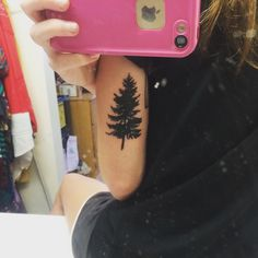 small tree tattoo #ink #YouQueen #girly #tattoos
