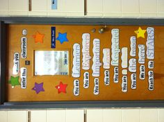 My classroom door from last year. Loved it! :)