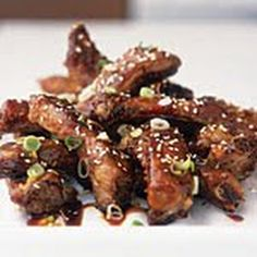 ... Crockpot Ribs, Pork Ribs, Clove Garlic, Sesame Seeds, Peppers Flakes