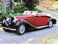 1939 Bugatti t57 Vanvooren -fired